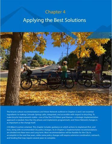 Screen shot of chapter four bike plan
