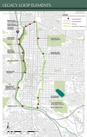 Map of the Legacy Loop project plan