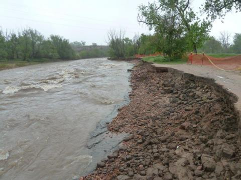 project progress for greenway trail