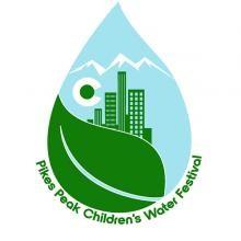 logo for pikes peak children's water festival