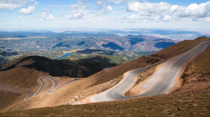 Pikes Peak Highway Above Treeline
